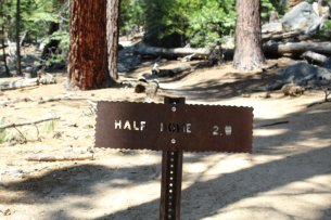 Only 2 miles to go - Yosemite National Park - 7-31-2019