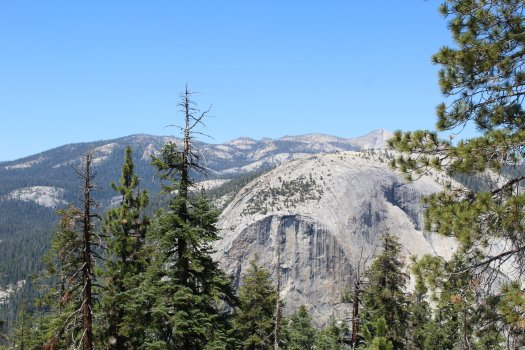 View from Half Dome4 - Yosemite National Park - 7-31-2019