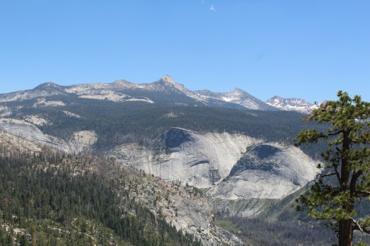 View from Half Dome5 - Yosemite National Park - 7-31-2019