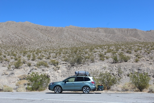Car in Death Valley - 8-1-19