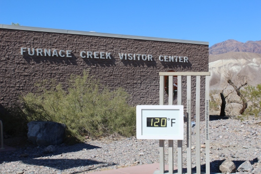 Furnace Creek thermometer